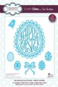 Sue Wilson Craft Dies - Fillables Collection - Happy Easter – CED21017